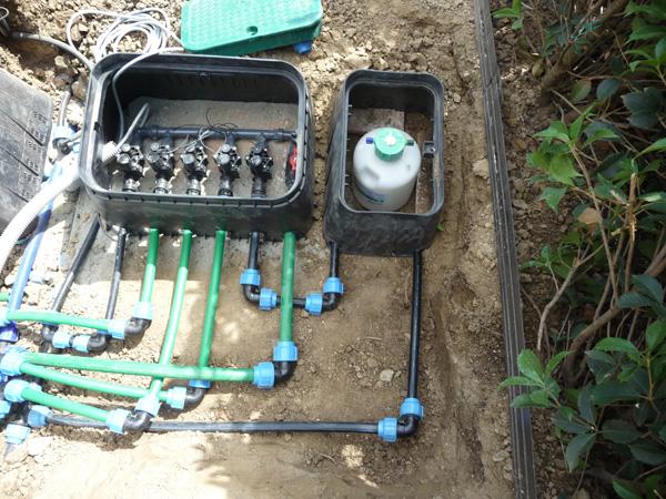 centralina impianto irrigazione giardino