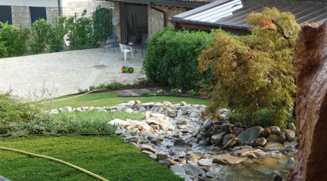Progettazione giardini e terrazzi pensili in provincia di Modena
